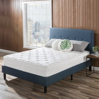 Priage 10 inch Spring Support Mattress with Green Tea Foam Comfort Layer, Full Size