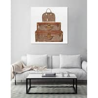 Oliver Gal 'Royal Bag and Luggage'Canvas Art