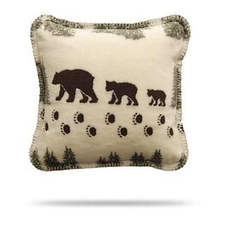 Denali Pearl Denali Bear/Sage Pillow 18x18