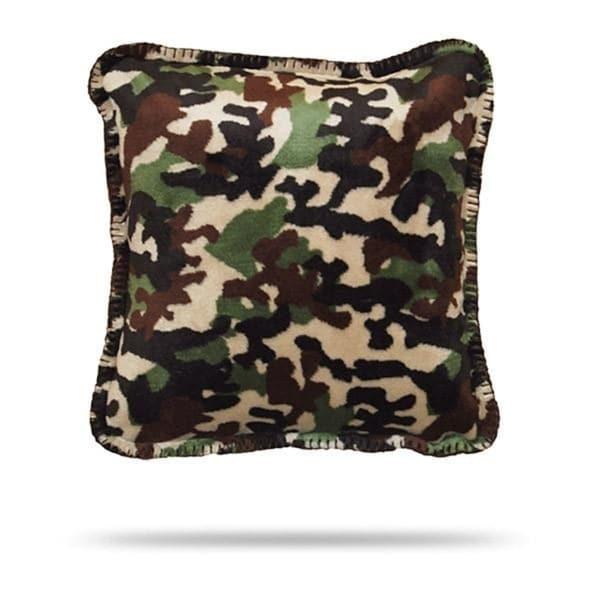 Denali Camouflage Dark Chocolate/Chocolate Pillow 18x18