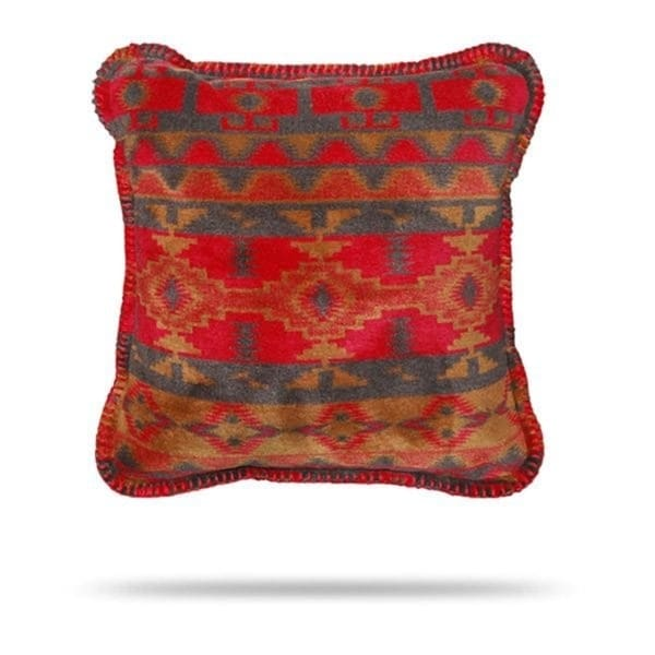 Denali Earth Spirit/Taupe Pillow 18x18