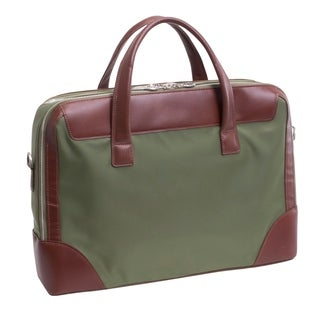 McKlein USA HARPSWELL Nylon Dual Compartment Laptop Briefcase