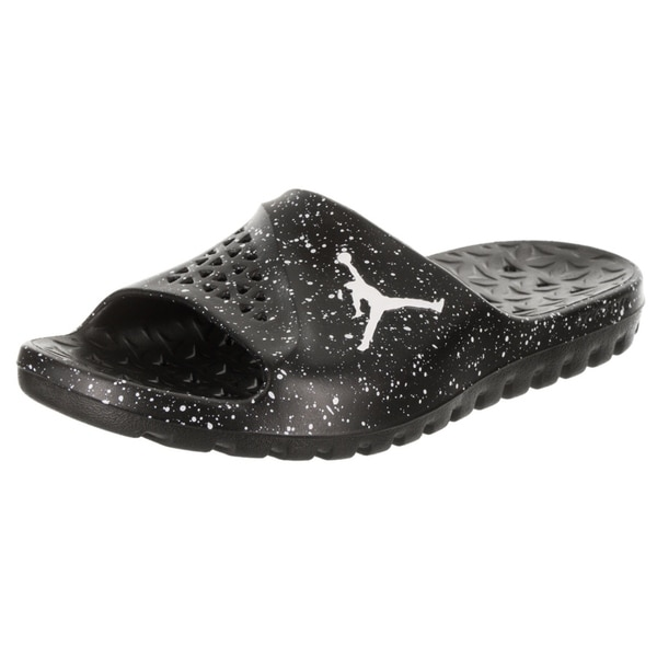4cf4b9b91e62b7 Shop Nike Jordan Men s Jordan Super.Fly Team Slide Sandal - Free ...