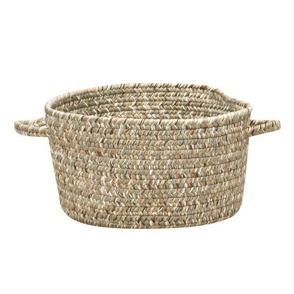 Sea Pottery 12-inch Caribbean Handmade Braided Basket