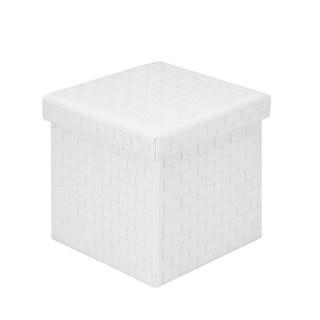 Poly and Bark Preston Cube Storage Ottoman