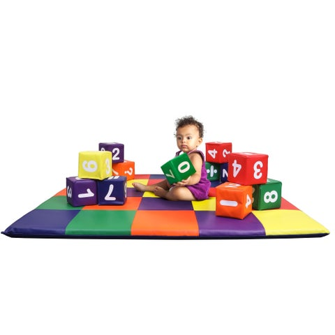 Kids Block 12PCS-Number - Crown Comfort