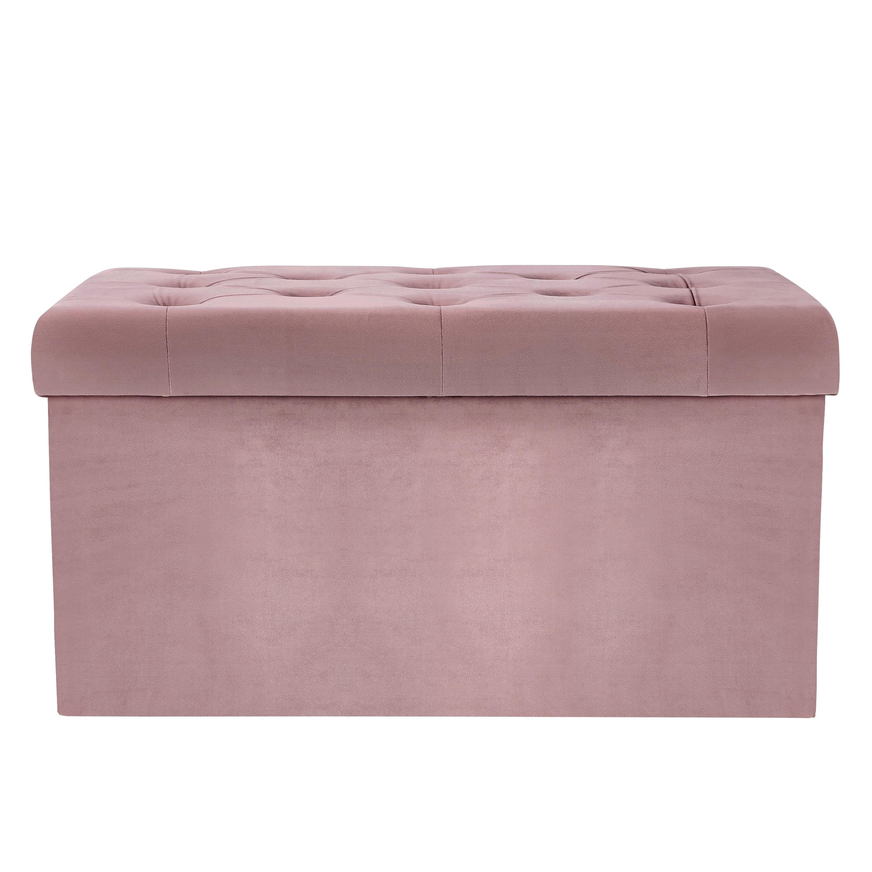 Phenomenal Poly And Bark Lauren Velvet Rectangular Storage Ottoman Ncnpc Chair Design For Home Ncnpcorg