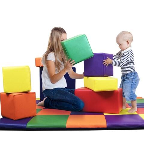 Kids Block 8 PCS Set - Crown Comfort