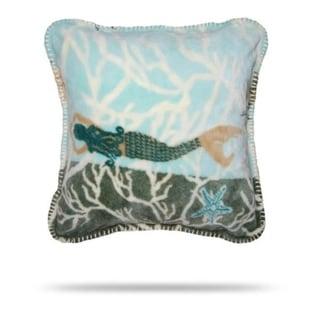 Denali Mermaid/Light Marine Pillow 18x18