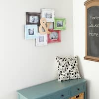 The Gray Barn Coconut Grove Distressed Photo Collage Frame