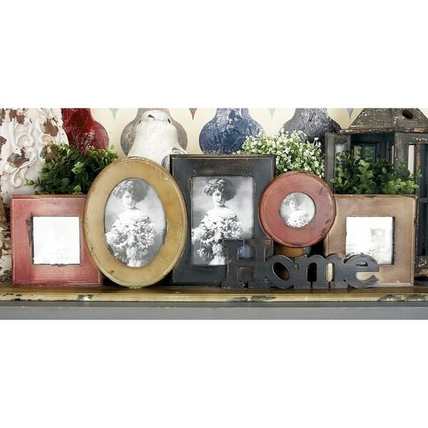 Oliver & James Buri Tabletop Collage Photo Frame
