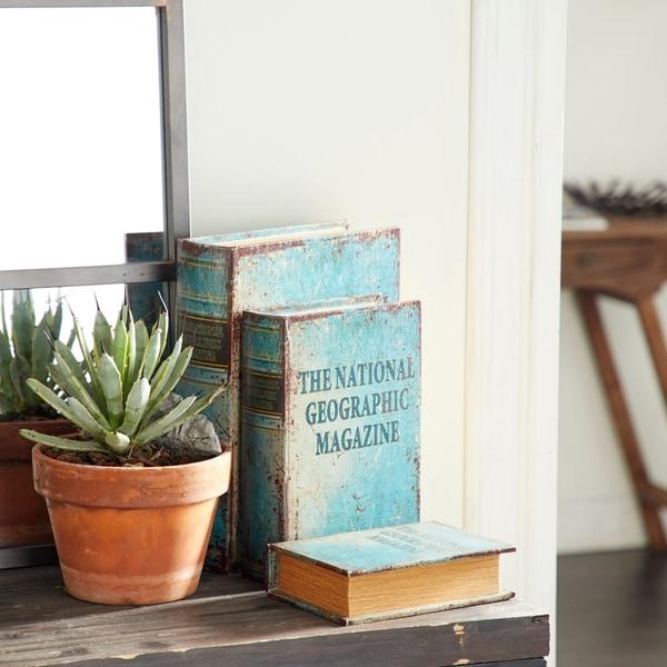 The Curated Nomad Bimini Faux Book Box Set