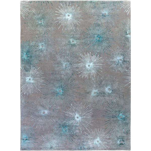 Porch & Den Multnomah Hand-tufted Wool and Viscose Area Rug - 8' x 11'