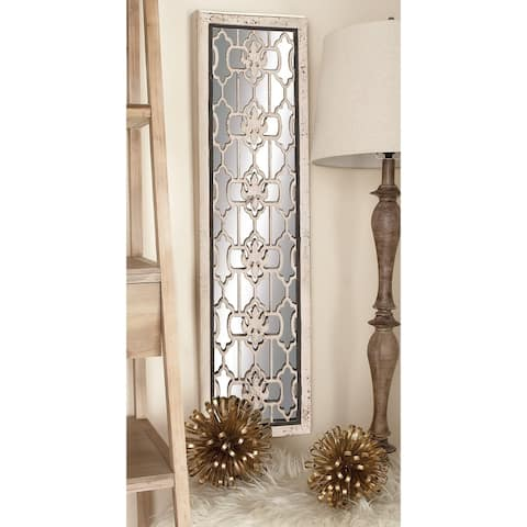 The Gray Barn Coconut Grove Wood and Mirror Wall Panel (Set of 2)