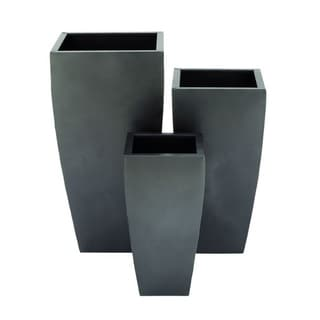 Havenside Home La Ceiba Metal Planter (Set of 3)