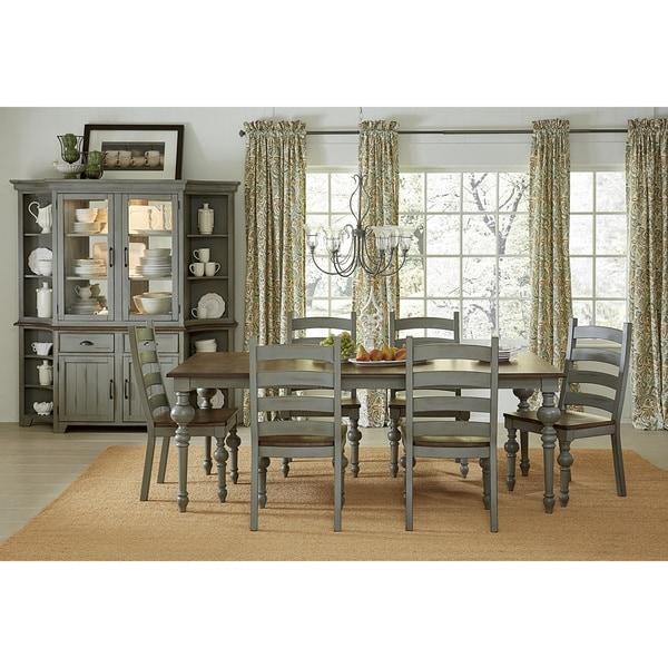 Copper Dining Room Tables: Shop Copper Grove Lagunetas Grey Rectangular Dining Table