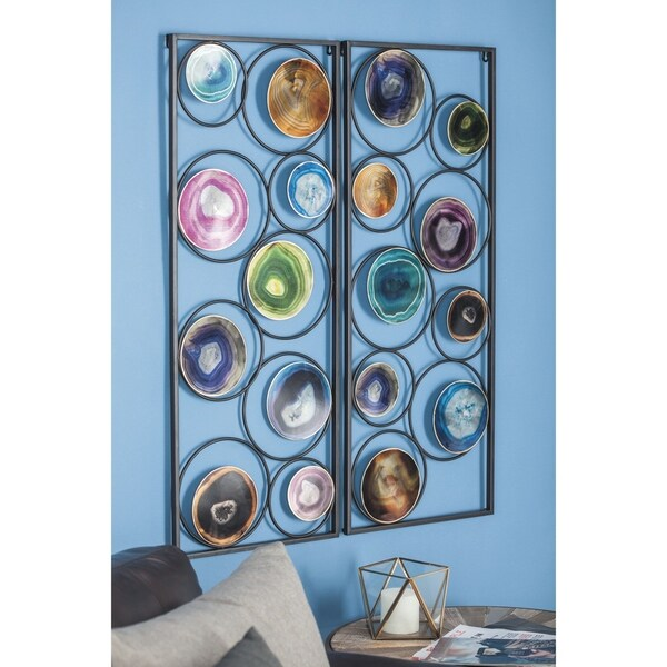 The Curated Nomad Bimini Metal Wall Decoration (Set of 2)