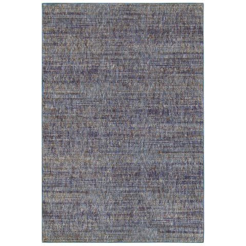 "Porch & Den Melville Purple Tonal Area Rug - 8'6"" x 11'7"""