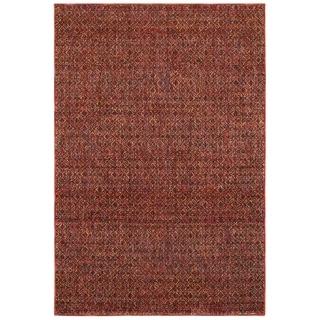 "Porch & Den Meinecke Red Textural Area Rug - 3'3"" x 5'2"""