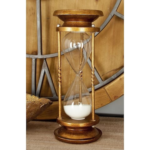 Strick & Bolton Buri 60-minute Metal Hourglass