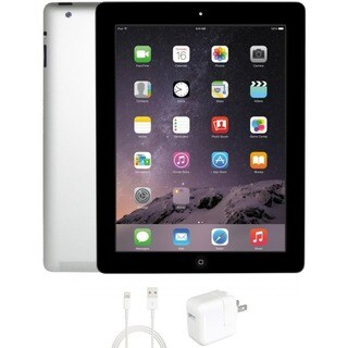 eReplacements Refurbished Apple iPad 4 32GB WiFi Black 1 Year Warrant