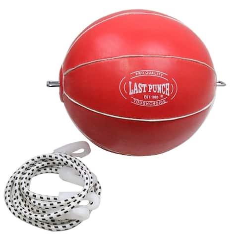 Last Punch Pro Sports Boxing Training Punching All Red Double-End Speed Ball