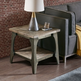 Carbon Loft Chloe Grey End Table