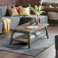 INK IVY Oliver Grey Coffee Table