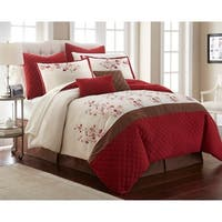 Blossoms 12 Piece Comforter Set Queen