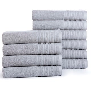 Everyday Hydro Cotton Absorbent Bath Towels (10-Pack)
