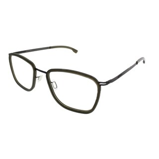 ic! Berlin Square Taku Unisex Graphite Seaweed Mily Frame Eyeglasses