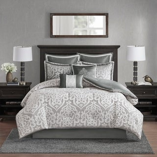 Link to Madison Park Dillon 8 Piece Jacquard Comforter Set (As Is Item) Similar Items in As Is