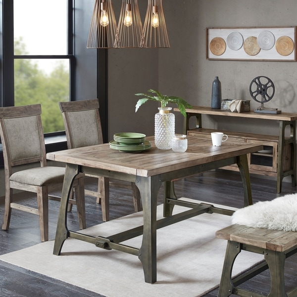 Carbon Loft Chloe Grey Extension Dining Table