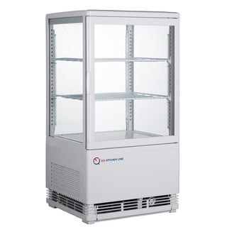 EQ Kitchen Line RT-58L Commercial Refrigerated Glass Beverage Display Case