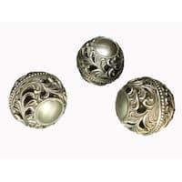 D'Lusso Designs Lucrezia Collection 3 Piece Orbs Set
