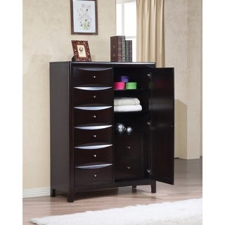 Bold Sturdy Chest with Storage Drawers, Brown