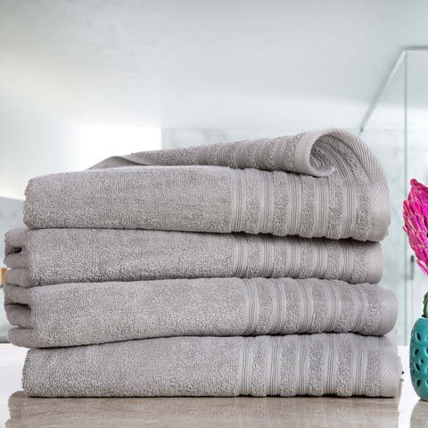 Everyday Hydro Cotton Absorbent Bath Sheets (4-Pack)