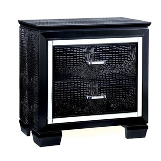 Bellanova Contemporary Night Stand In Black