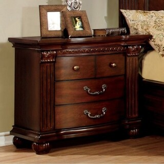 Grandom Night Stand, Cherry Brown