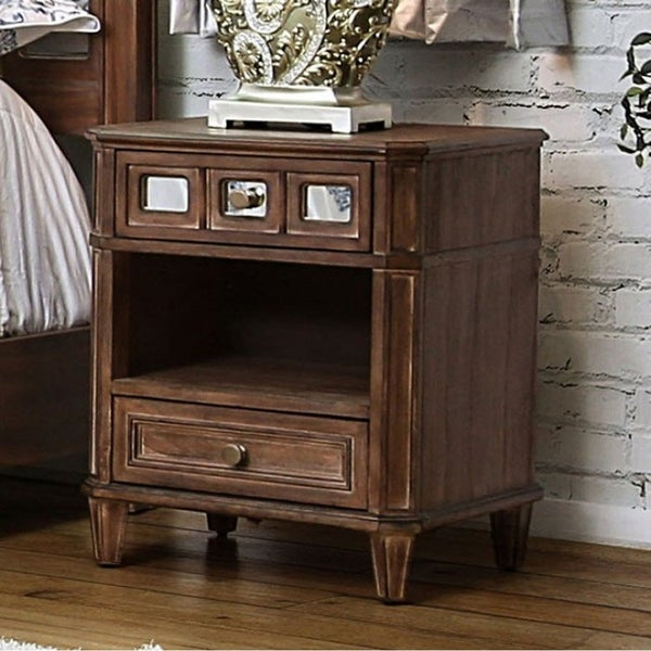 Frontera Transitional Style Night Stand
