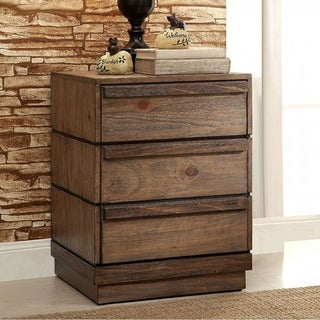 Coimbra Transitional Style Night Stand