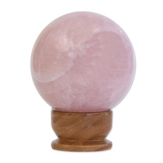 Rose Quartz Love Crystal Ball (Medium) - Brazil