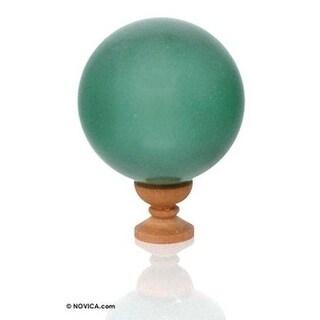 Quartz Ball, 'Rainforest' - Brazil