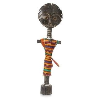 Wood Fertility Doll, 'Ashanti And Donkor' - Ghana