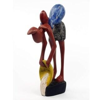 Wood Sculpture, 'Kekyerie Maame' - Ghana
