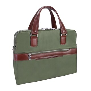 McKlein USA HARTFORD Nylon Dual Compartment Briefcase