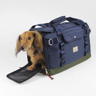 Sputnik Uniquely Crafted Medium Size Dog Carrier, Dog Bag and Tote Purse, Blue