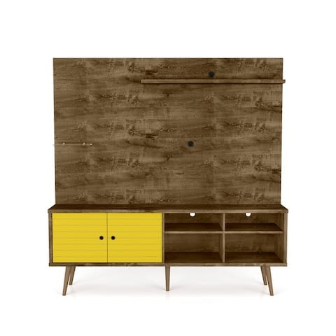 Liberty 70.87 In. Freestanding Brown Entertainment Center