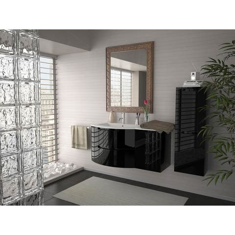 "Latoscana Oasi 43"" Vanity with Right Side Cabinet"