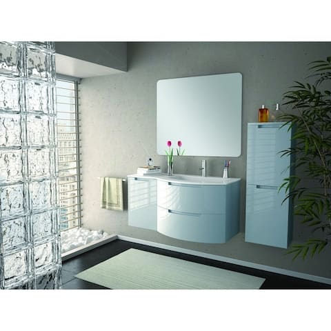 "LaToscana Oasi 43"" Vanity with Left Side Cabinet"
